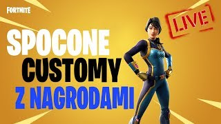 🎮 CUSTOMY with VIEWERS 🎁 GIVEAWAY CO 100 PAWEK 🔴 #FORTNITELIVE #nażywo #FORTNITE