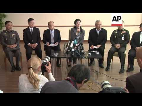 Thai PM Yingluck Shinawatra meets foreign press