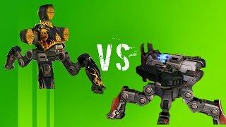 Fujin Vs Raijin -walking War Robots (wwr)