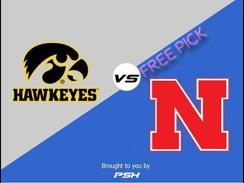 Iowa Hawkeyes vs Nebraska Cornhuskers NCAAF Football Free Pick/Prediction Week #13 11/24/2017