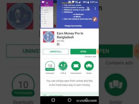 Payment Bkash || Felxiload || Earn Money Form Bangladeshi App || Bangla Tutorial ||