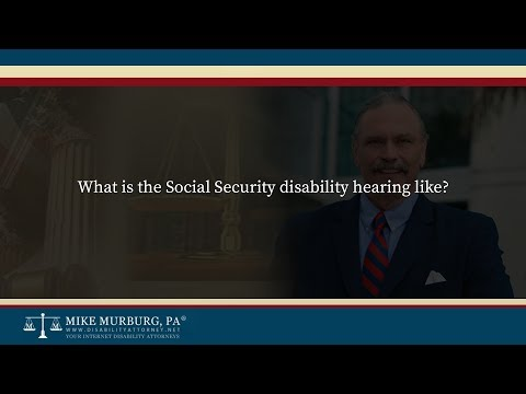 Hearings The ALJ Level - Disability Attorney