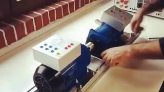 Test de charge d'un moteur asynchrone triphasé avec frein