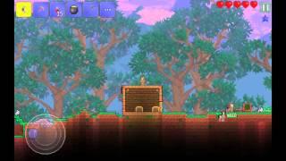 Прохождение игры Terraria на  Android с другом