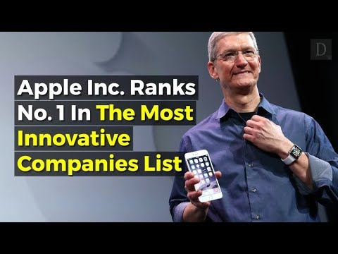 Apple Named World's Most Innovative Company Due to Focus on Hardware and Software Integration