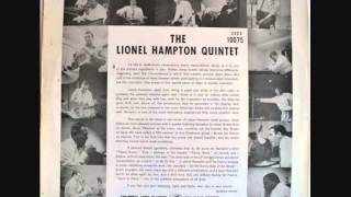Lionel Hampton Quintet   Flying Home