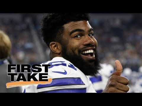 First Take reacts to NFLPA's court order to block Ezekiel Elliott suspension | First Take | ESPN