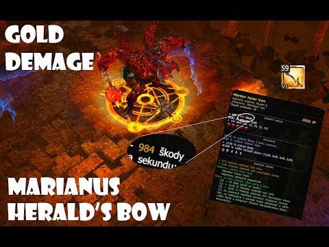 Drakensang Online [ Herald INFERNAL 3 !SOLO! ] - GOLD DMG Bow - marianus