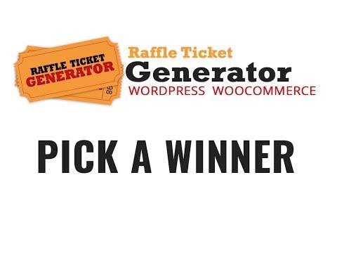 Raffle winner generator