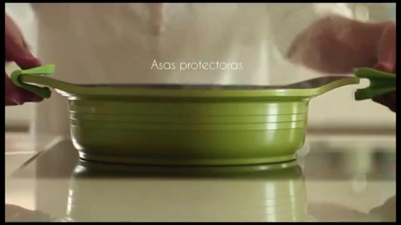 Ventajas de cocinar en cer mica youtube - Cocinar en sartenes de ceramica ...