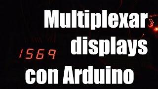 Video MULTIPLEXAR DISPLAYS con Arduino || Shift registers download MP3, 3GP, MP4, WEBM, AVI, FLV Juli 2018