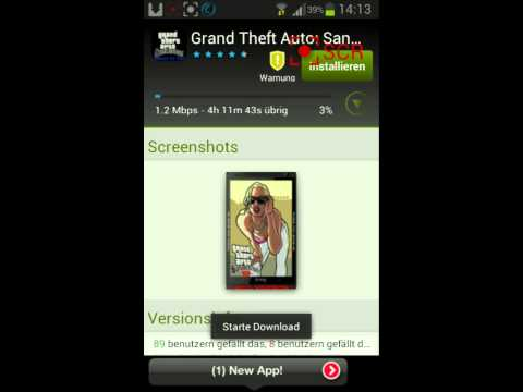 how to install Grand Theft Auto San Andreas APK and DATA