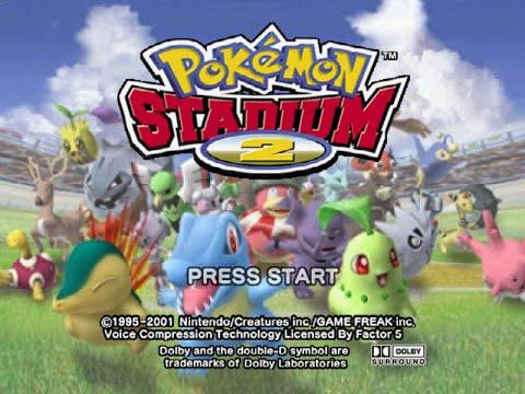 (001) Pokemon Stadium 2 100% Rentals Only - Gym Leader Castle - Violet Gym