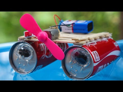 How To Make A Powerful Electric Boat At Home