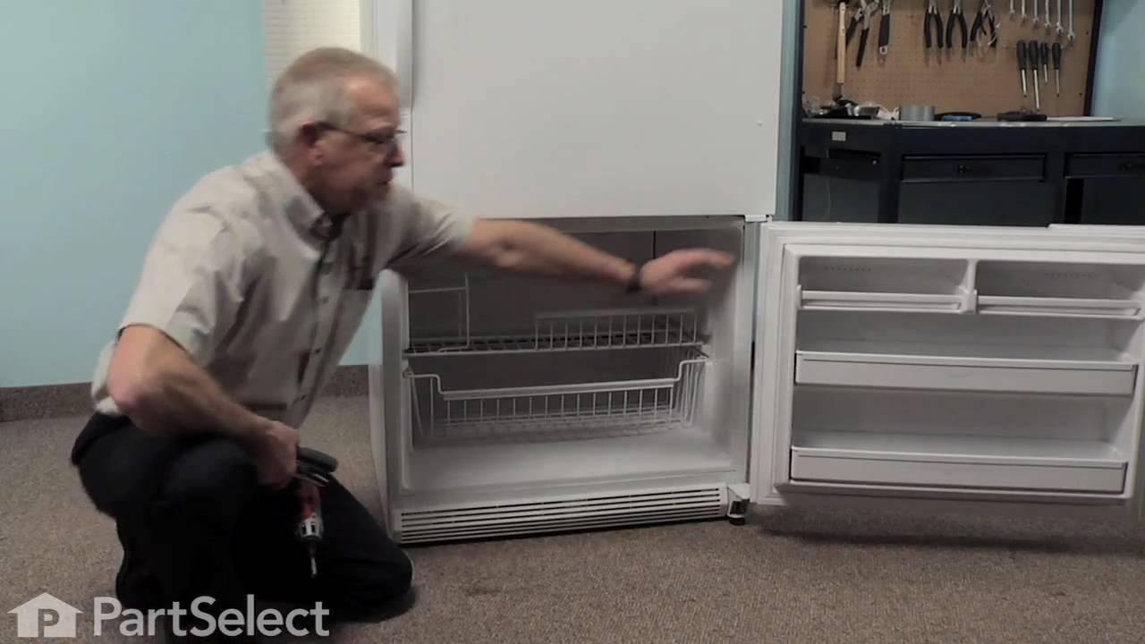 Refrigerator Repair Replacing The Bimetal Defrost