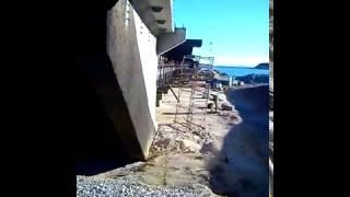 Керченский мост сегодня 08.12.2016/Мост начало Керчь/Стык с берегом
