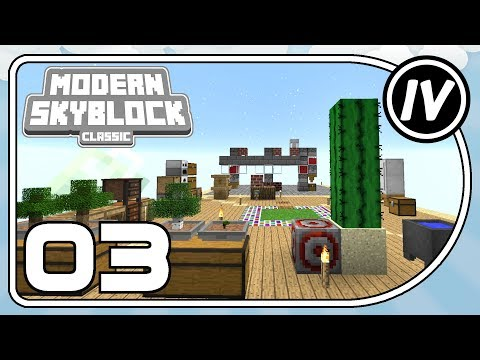Modern Skyblock: Classic - Ep 3 - Infinite Iron & Freezing