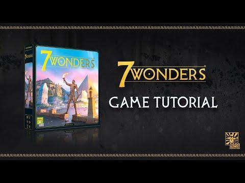 7 WONDERS TUTORIAL VIDEO | Learn how to play 7 Wonders in 10 minutes!