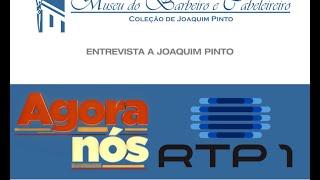 """RTP1 """"Agora Nós"""" Pedro Vasconcelos e Tãnia Rivas, com Joaquim Pinto - Pinto"""