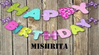 Mishrita   Birthday Wishes