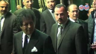 قذاف الدم في عزاء محمد حسنين هيكل