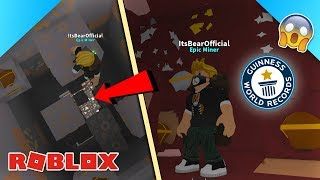 """Roblox Mining Simulator HACK: """"ORES ONLY"""" MINE (New World Record!) - Ft. DefildPlays"""