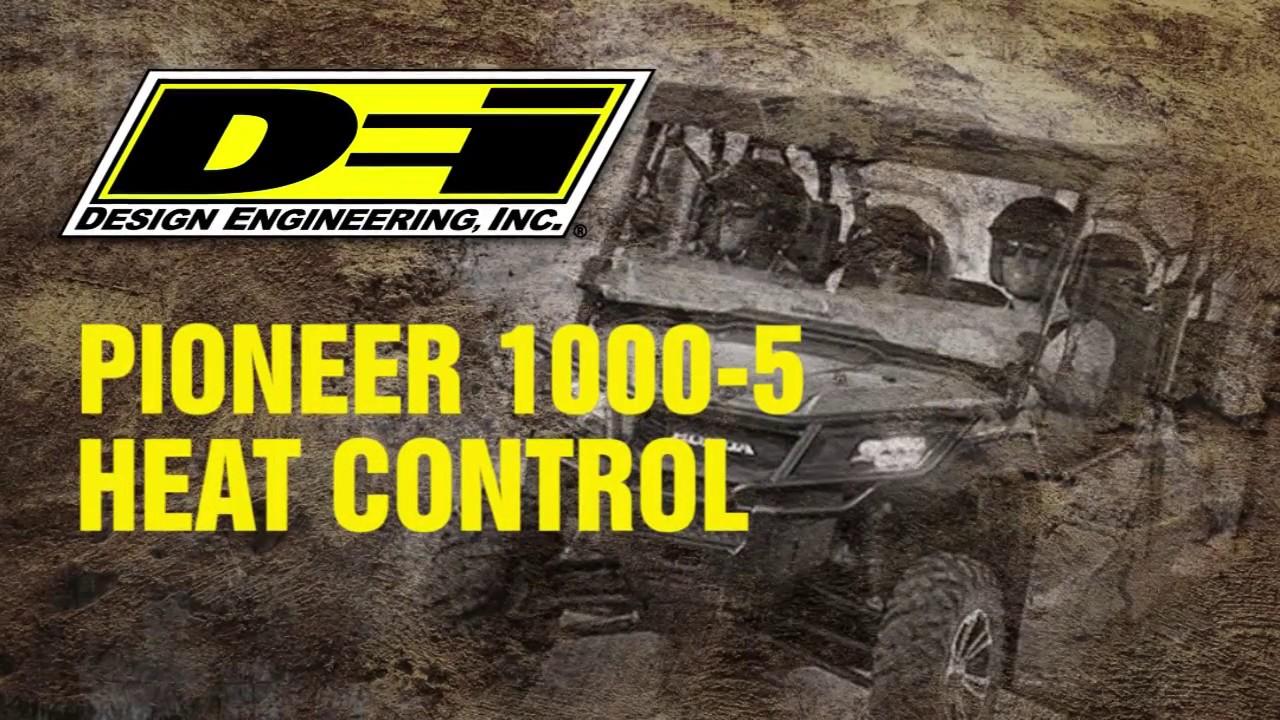 Honda Pioneer Heat Control - YouTube on