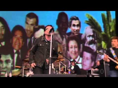 U2 with Paul McCartney - Sgt  Pepper's Lonely Hearts Club Band (Live from Live 8) 2005