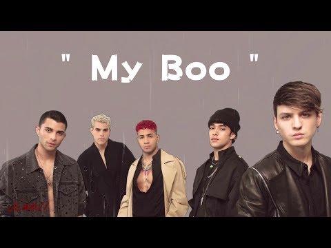 CNCO - My Boo (Letra/Lyrics) 4k