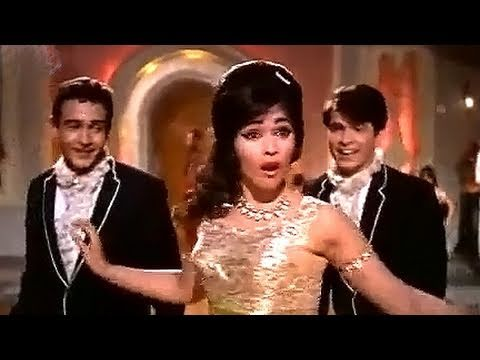Jaan Pehchan Ho - Mohammed Rafi, Gumnaam Dance Song