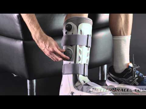 VIDEO: How to use the Aircast AirSelect Standard - Comfortable Walking Brace Boot