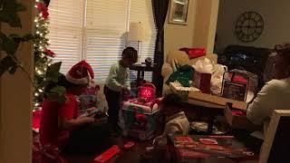Christmas at Grandma Prte's House Part 2   Vlog 43