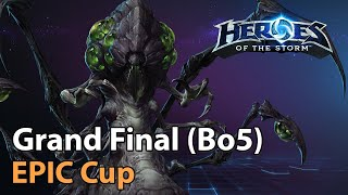 ► EPIC Cup - Grąnd Final - Heroes Lounge - Heroes of the Storm Esports
