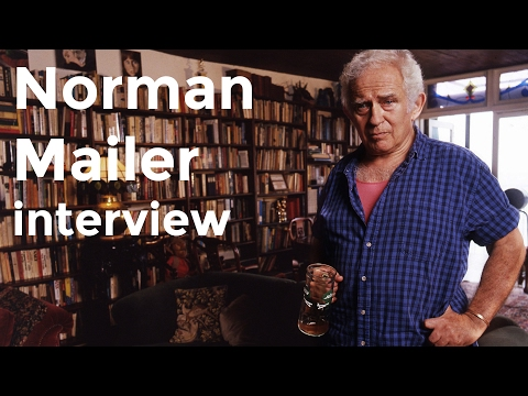 Norman Mailer interview on Charlie Rose (1996)
