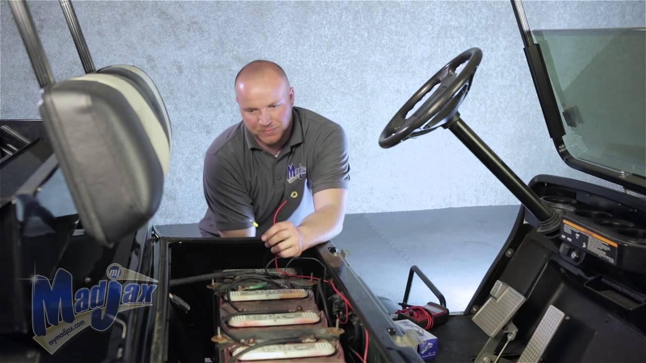 Club Car Wiring Diagram 12 Volt Battery