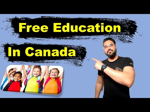 Is Education Free In Canada? 😯 | Types Of School In Canada | Canada Couple
