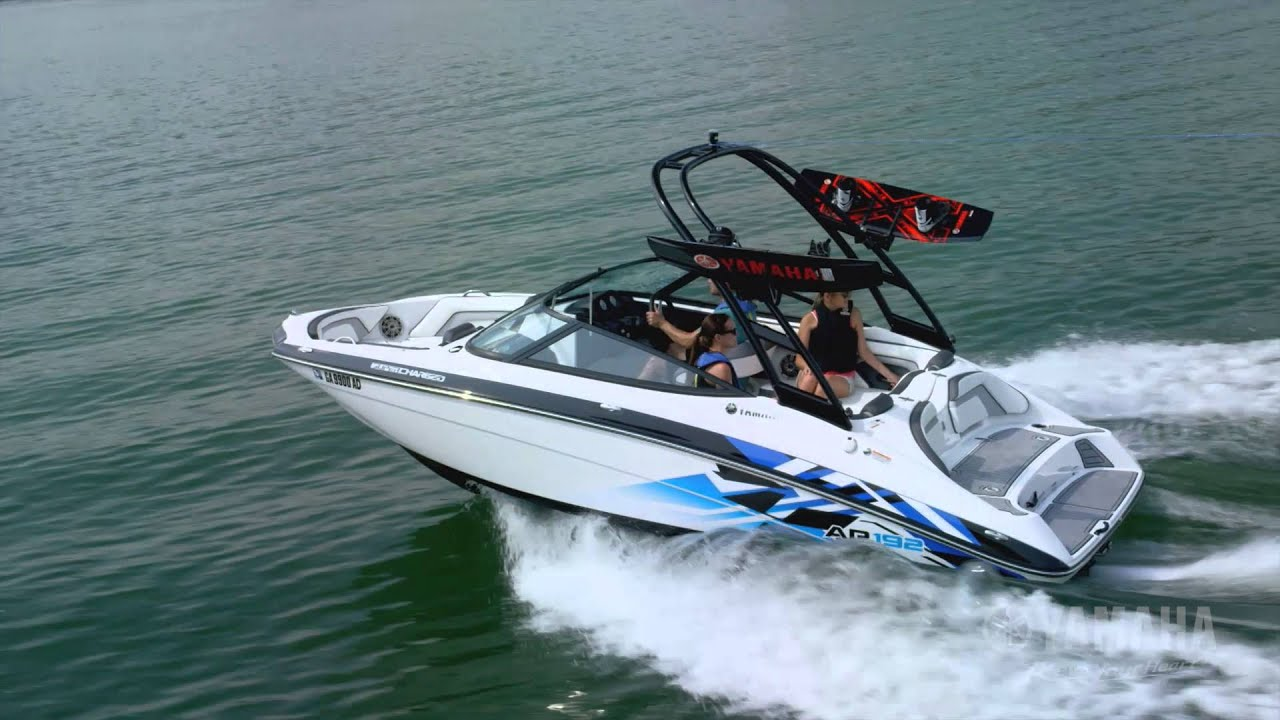 2016 yamaha 192 series sport boats youtube