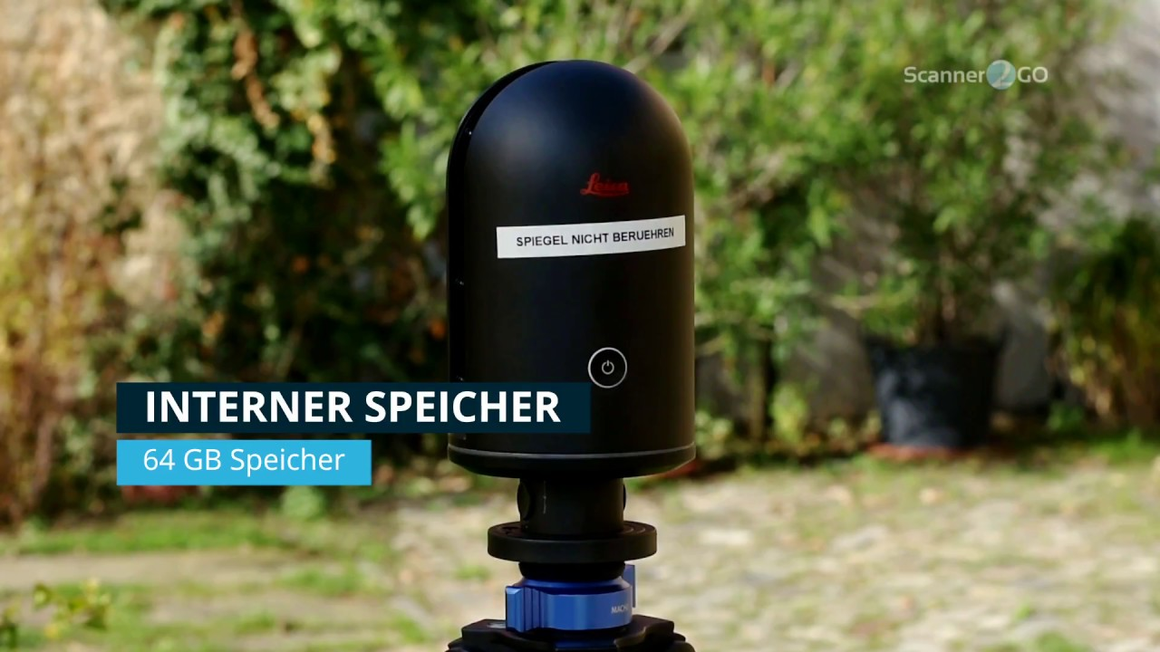 Leica BLK360 | Laserscanner 3D Aufmass