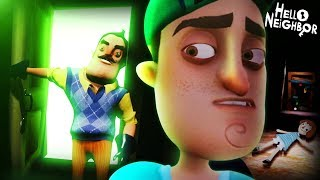 THE BACKSTORY OF EVERYTHING || Hello Neighbor (ACT 1 ENDING)