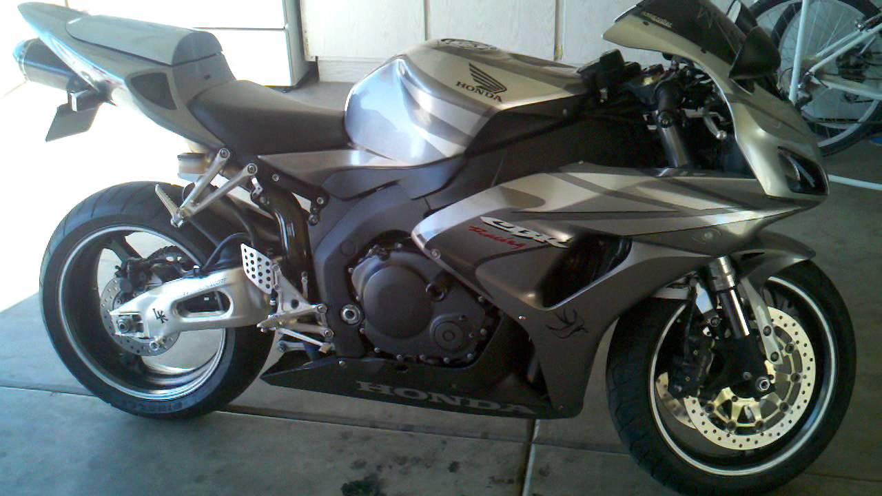 My 2006 Honda Cbr 1000rr Youtube
