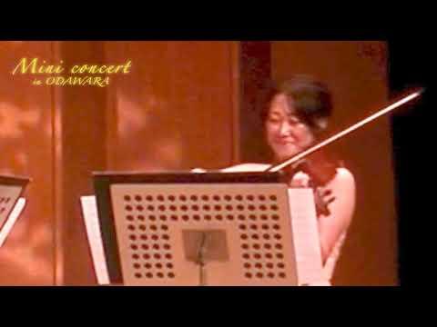 昼のミニコンサート 舟山 奏(ヴァイオリン)、福井 彩花(ヴァイオリン) 「故郷」