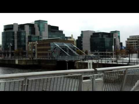 View from Sean O'Casey Bridge