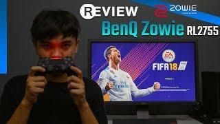 Review : BenQ Zowie RL2755 [ FIFA 19 ]
