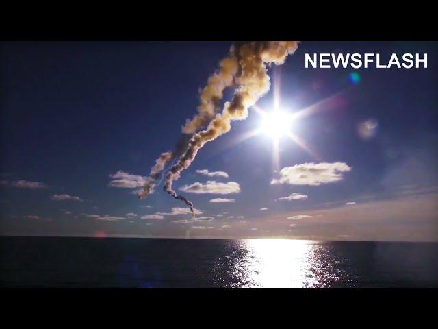 Putin Rattles Sabre As Russian Vessel Fires Missiles In Sea Of Japan