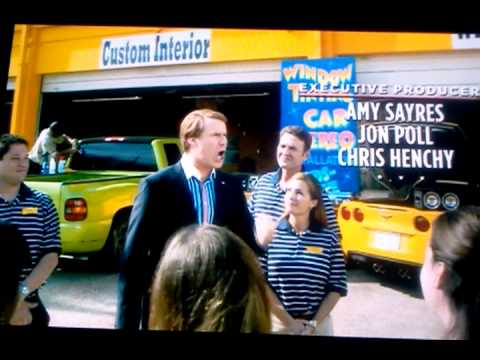 Will Ferrell Car Stereo Window Tint Campaign Slogan Youtube