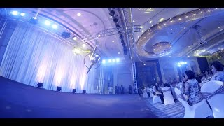 Napapatch Choco Aerial Hoop Ballet Wows Audience at Charity Gala