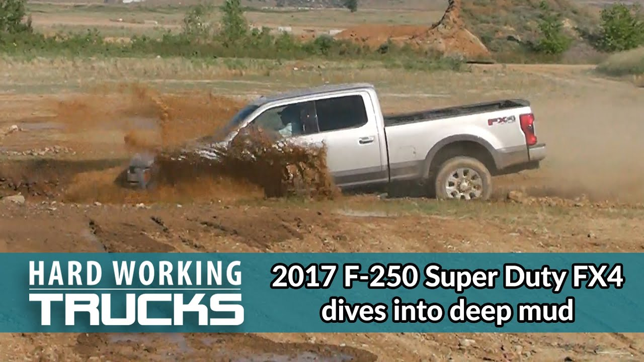 2017 f 250 super duty fx4 dives into deep mud youtube 2017 f 250 super duty fx4 dives into deep mud hard working trucks sciox Images