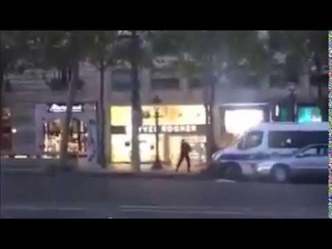 asi abatio la policia al terrorista de paris