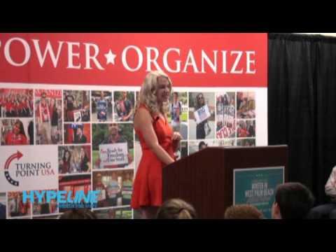 Elisha Krauss Addresses TPUSA Activists in West Palm Beach