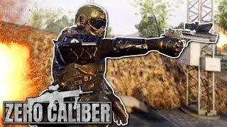 INTENSE VR BATTLE WITH CUSTOMIZABLE GUNS! - Zero Caliber VR  Gameplay